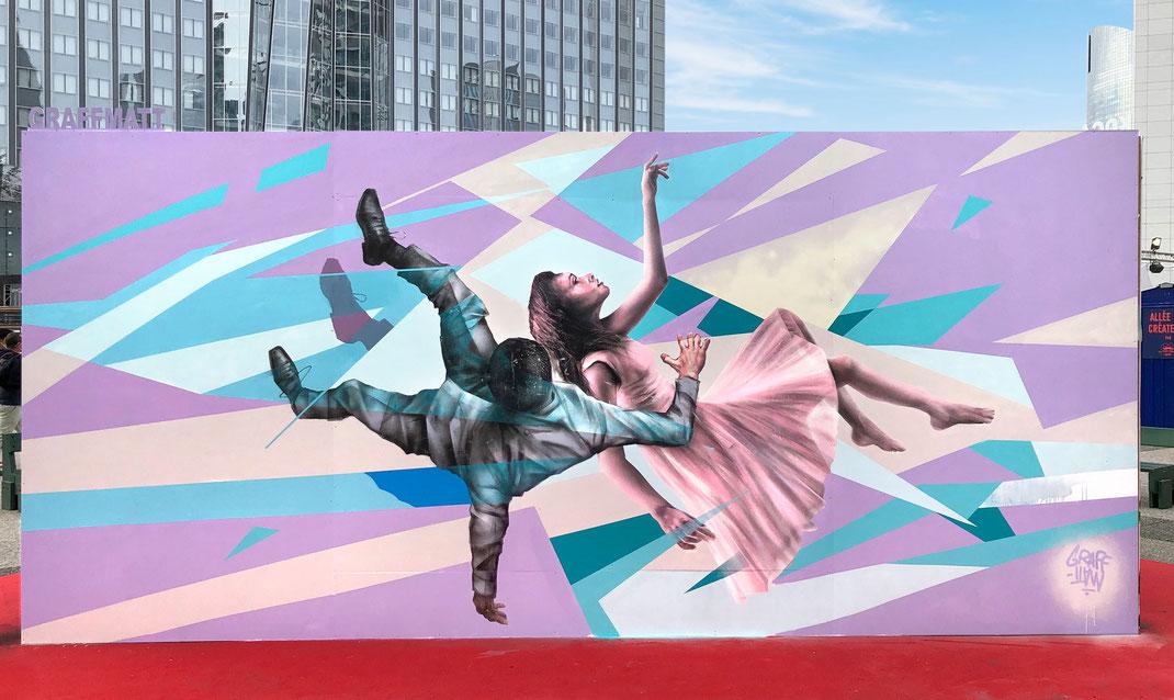 underground effect festival street-art paris la défense 2020 projet saato notorious brand streetart fest graffiti art graffmatt artiste peintre art urbain loop color maquis-art peinture bombe aérosol art