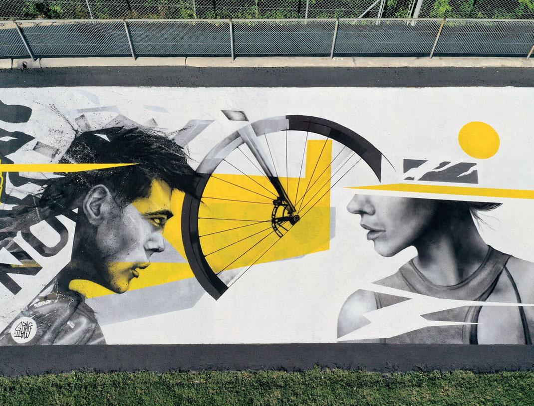 streetart graffiti art suisse genève geneva artist urban art velodrome stade de frontenex ugs artistes streetart