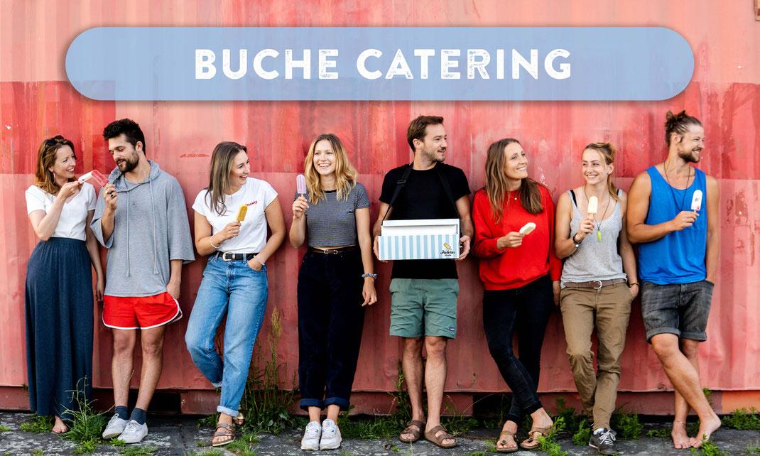 Eis bestellen, am besten als Stieleis Catering von Paletas Berlin, Streetfood Popsicles bei einem Event