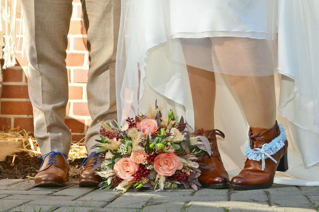 DiY Hochzeit im eigenen Garten