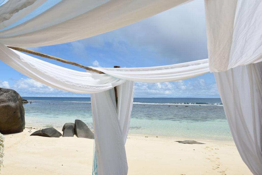 Beachwedding Seychelles
