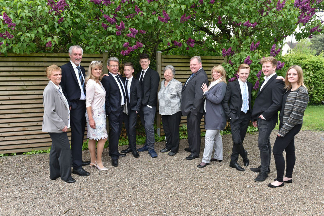 Familiengruppenfotos Bielefeld