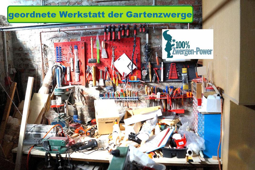 Werkstatt fuer Gartenzwerge