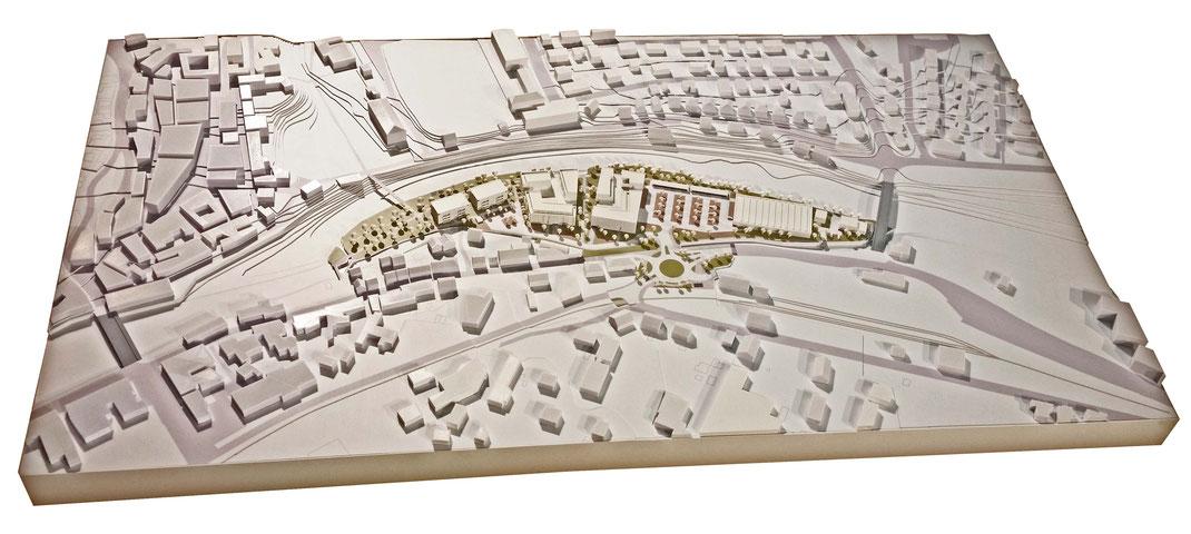 Stadtmodell 3D Druck