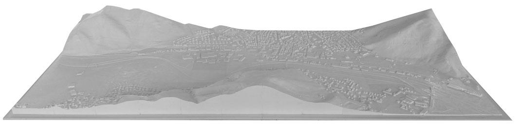 3D Druck Stadtmodell LOD2, LOD1 Geoscanndaten