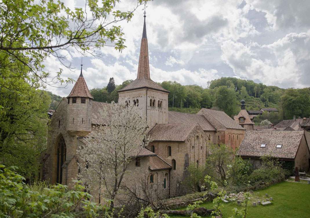Abteikirche Romainmôtier Kanton Waadt SChweiz