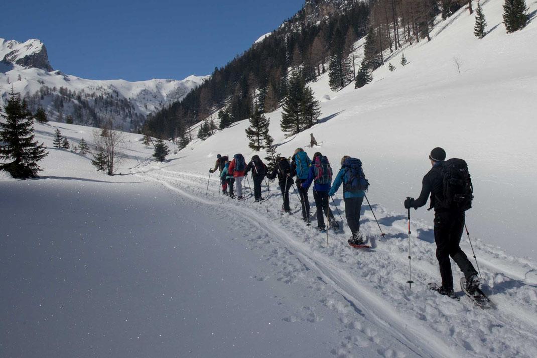 Lenk, Iffigtal, Berneroberland, Wandern, Schneeschuhlaufen