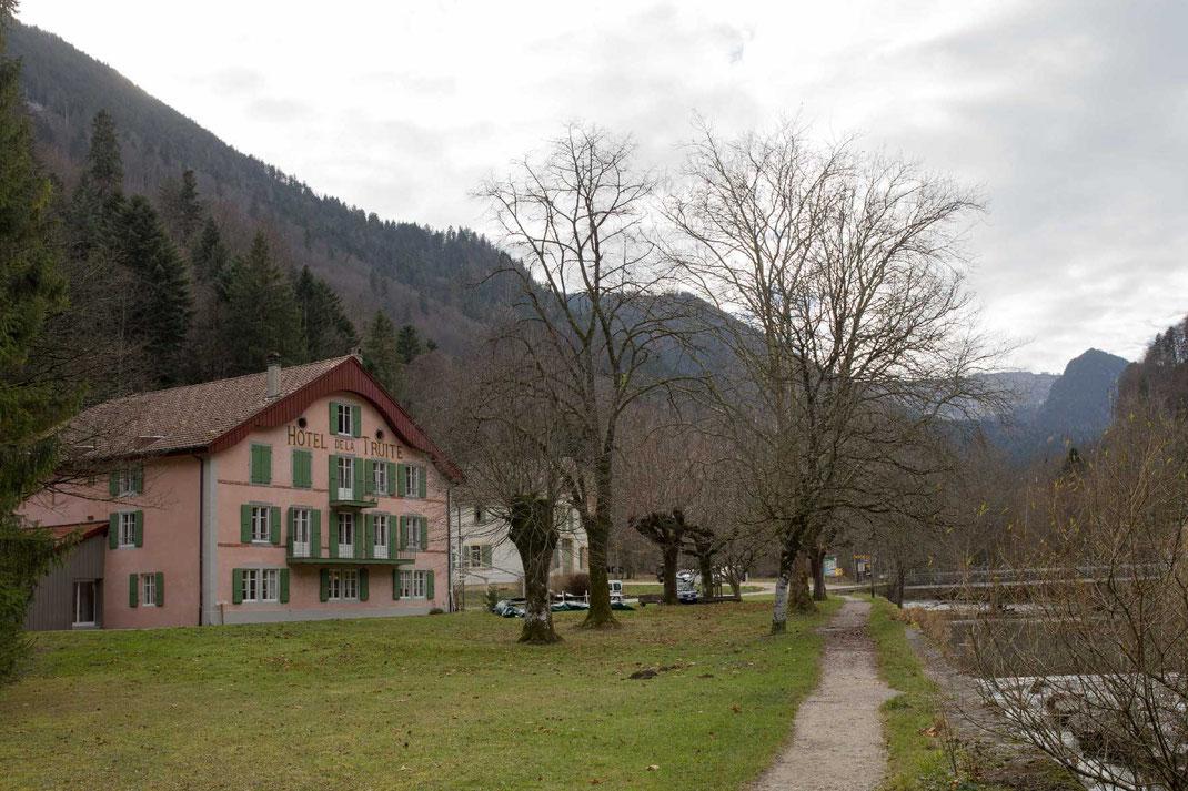 Creux du Van Champ du Moulin Natur-erlebnisse