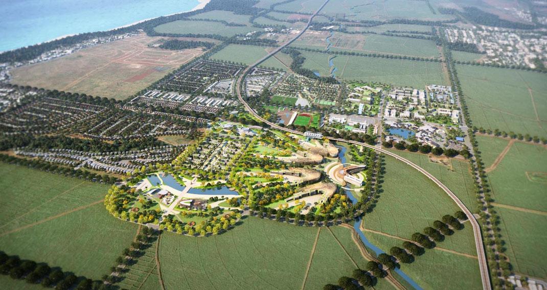 LA Smart City de Medine, UNICITI; une réalisation du groupe Medine