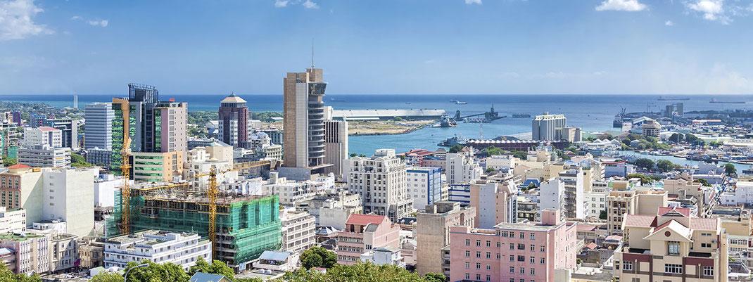 Port Louis est la ville la plus agréable du continent africain. S'installer et vivre à l'Île Maurice.