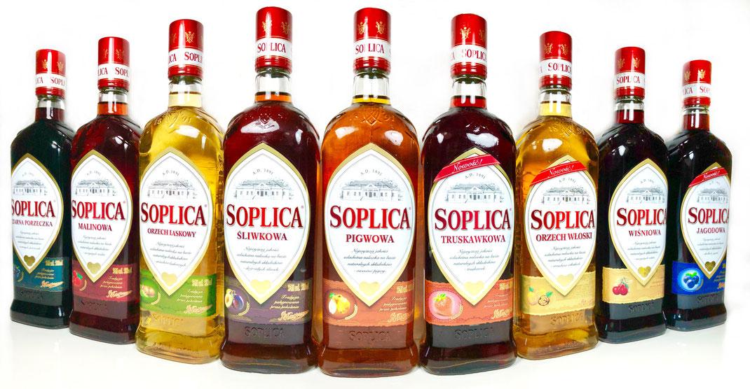 Soplica - Liqueurs de vodka fruitées