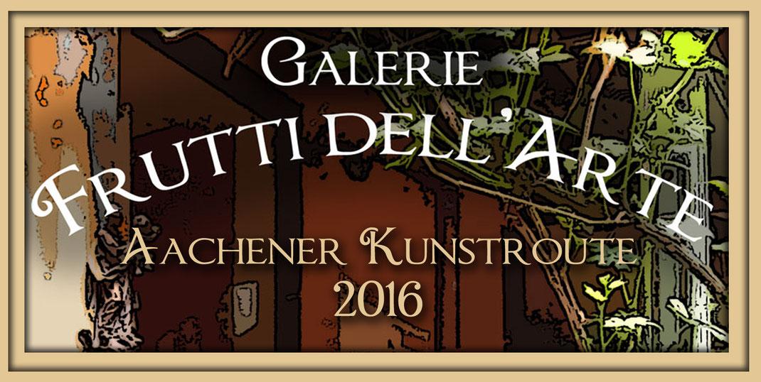 Titelbild der Galerie Frutti dell'Arte auf der diesjährigen Aachener kunstroute