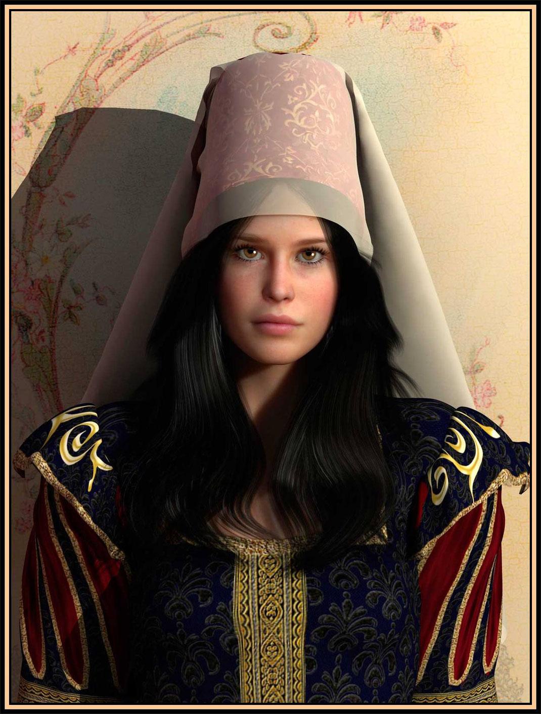 Portrait Artemisia dell'Art. Portraits des Künstlers Marcus Löhrer auf der 22. Aachener Kunstroute in der Galerie Frutti dell'Arte