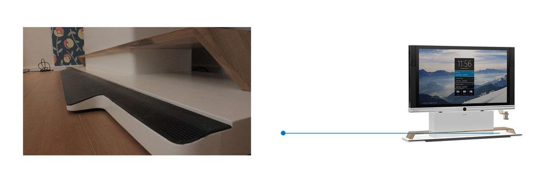 Display-Ständer für Microsoft Surface Hub 84 Zoll