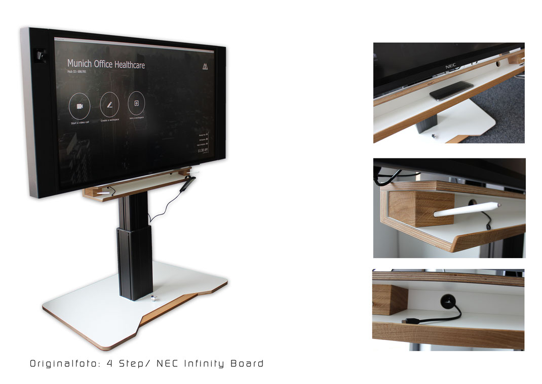 Dieses Bild zeigt das Model: 4 Steps - ein multifunktionaler Display- Ständer