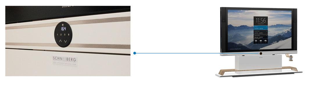 Display-Ständer für Microsoft Surface Hub