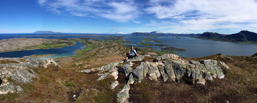 Top of Torghatten