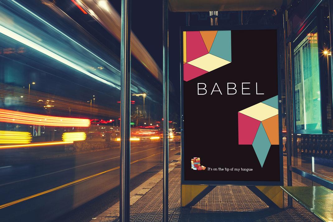 Babel hirdetés terv