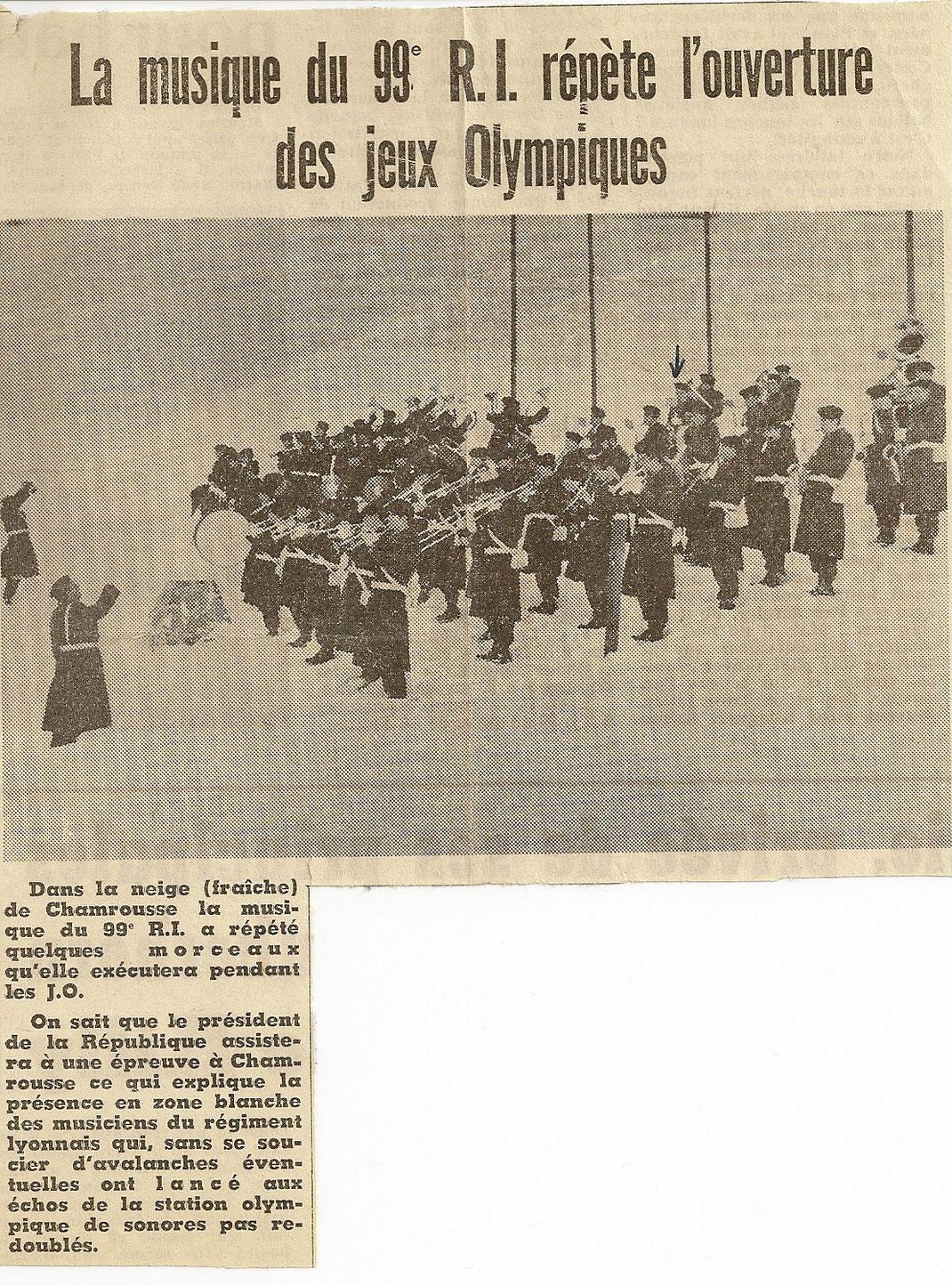 Article du Dauphiné Libéré