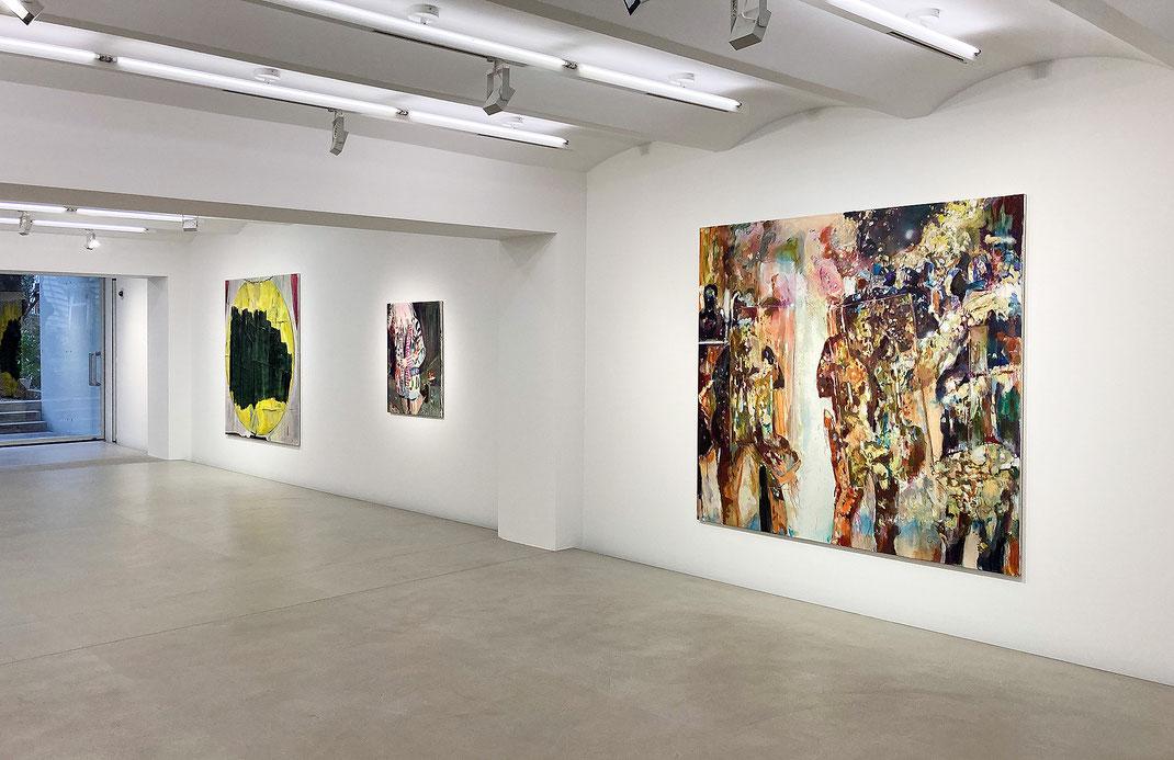 Franziska Klotz / Patricia Ayres – Painting and sculpture , Galerie Kornfeld Berlin2020 |Photo: Gerhard Haug, Berlin