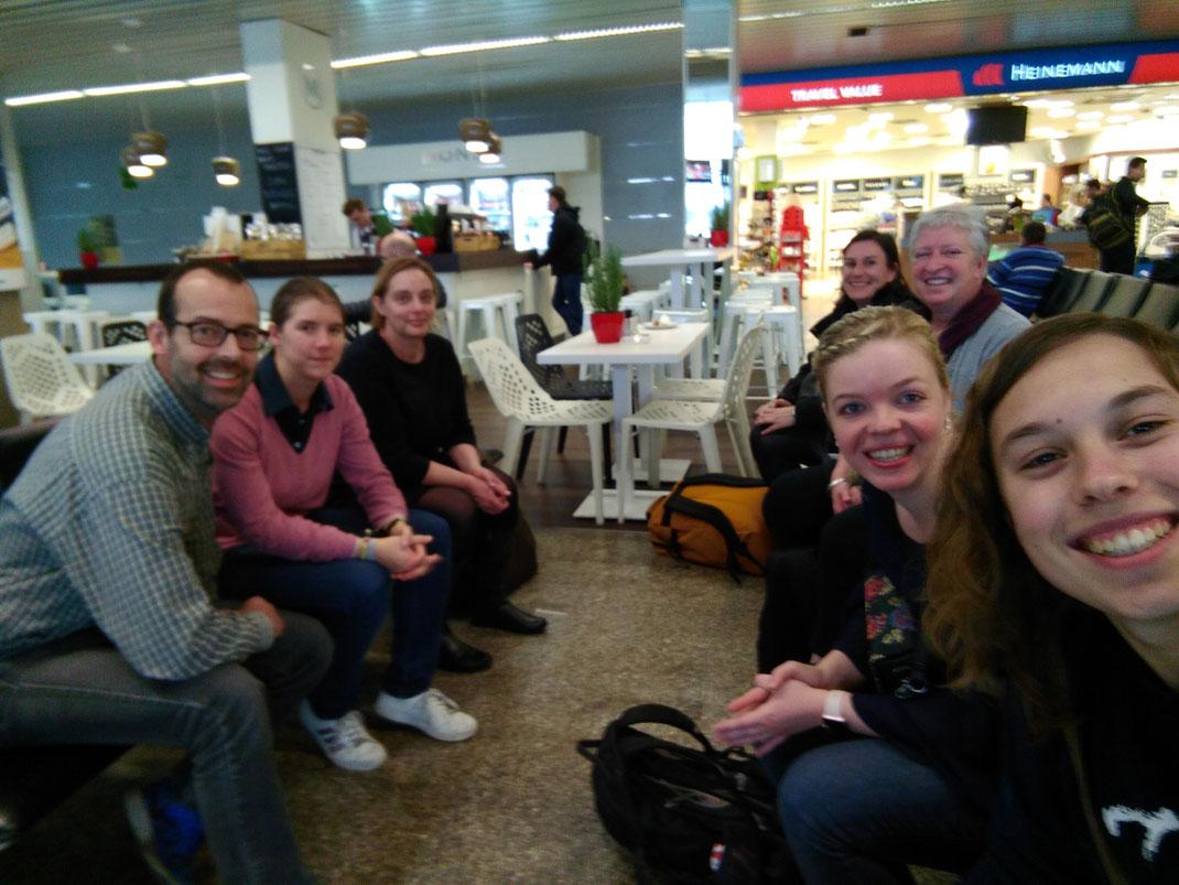 Bye bye Slovenia! (Herman, Leen, Diane, Tine, Ann, Evelien, Jana)