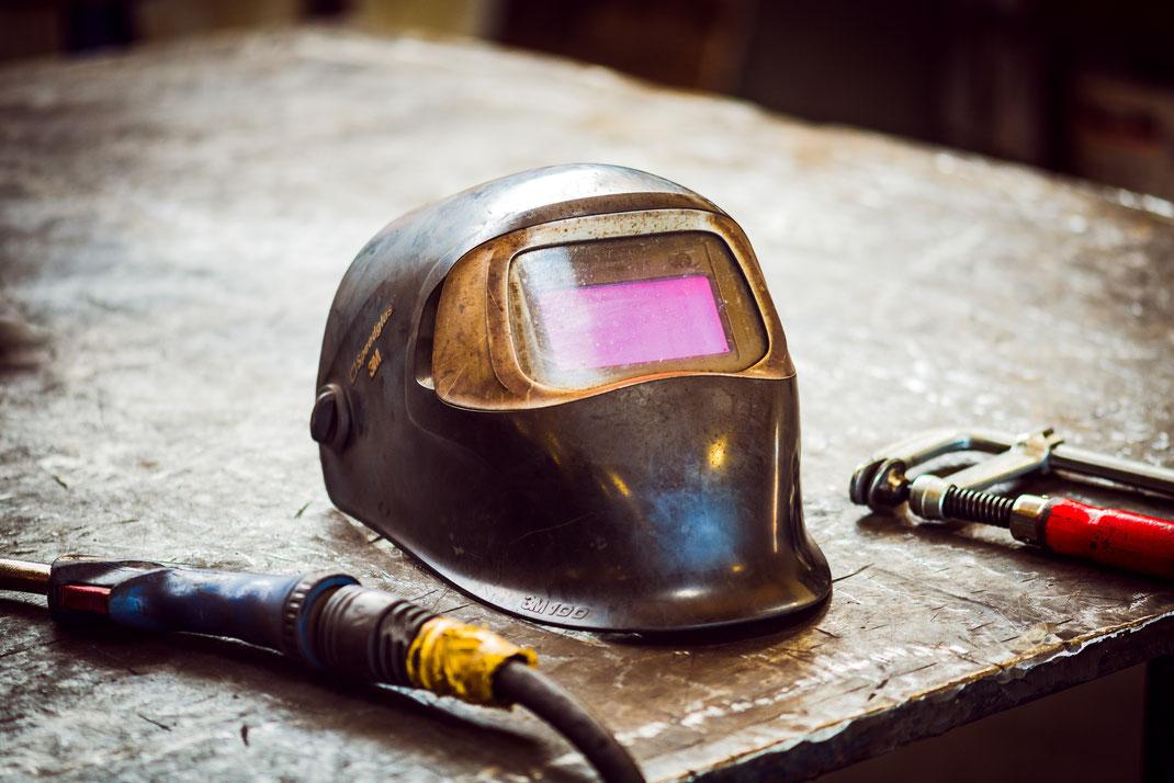 Schweißen MAG-Schweißen Schlosserei Metallbau Stahlbau
