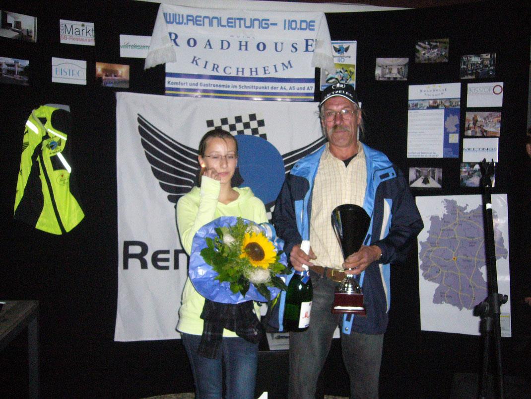 Erster Gewinner der Waldhessen-Trophy 2012 - Gerhard Otto