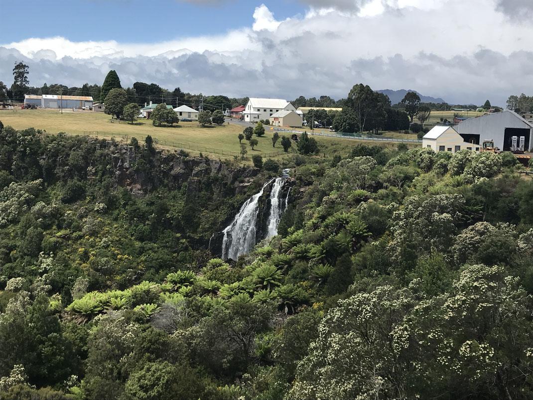 kältester und nassester Ort in Tasie