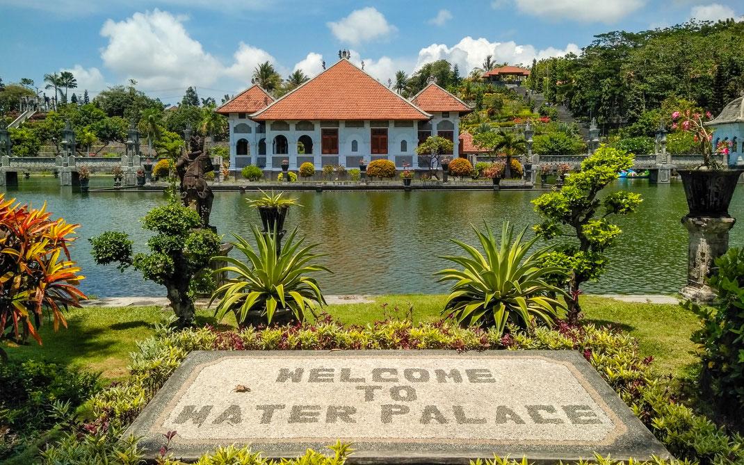 Taman Ujung Wasserpalast in Amlapura
