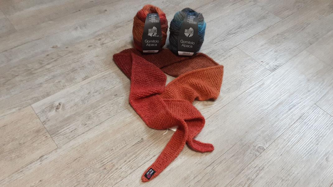 Neuheit von der Firma Mayflower. Handgefärbte Sockenwolle.