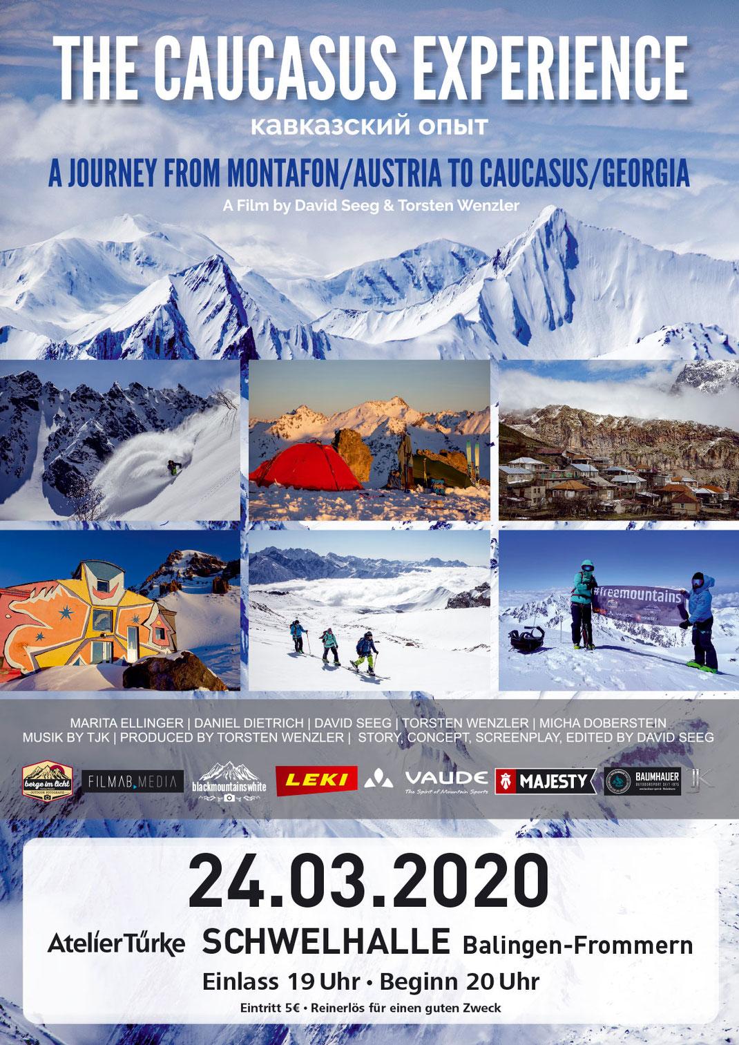 The Caucasus Experience - A journey from Montafon/Austria to Caucasus/Georgia - Movie 52min.