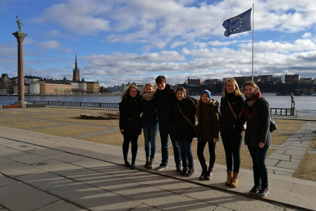 Anna Nick, Maris Lohmölller, Marcel Fischer, Magdalena Overberg, Annika Reiss, Anne Hemken, Raphaela Polk in Stockholm