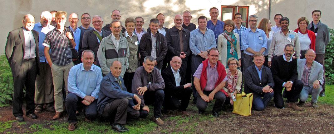 Die Teilnehmer der Jesuiten-Koferenz.