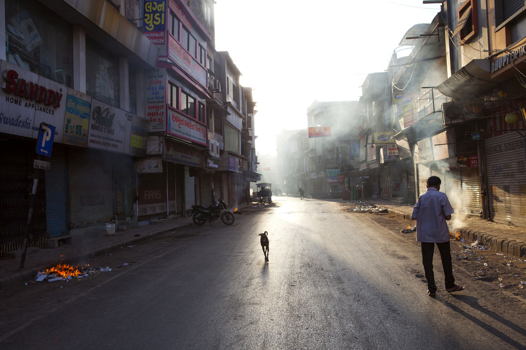 Ahmedabad in the Very Early Morning // Ahmedabad / Gujarat / India