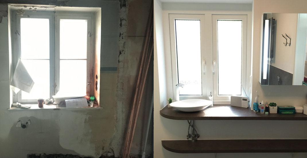 Grundrissänderung-Schlauchbad-GästeWC-Badensuite-Badezimmer-ensuite-Einzug-Wände-Innenarchitektur