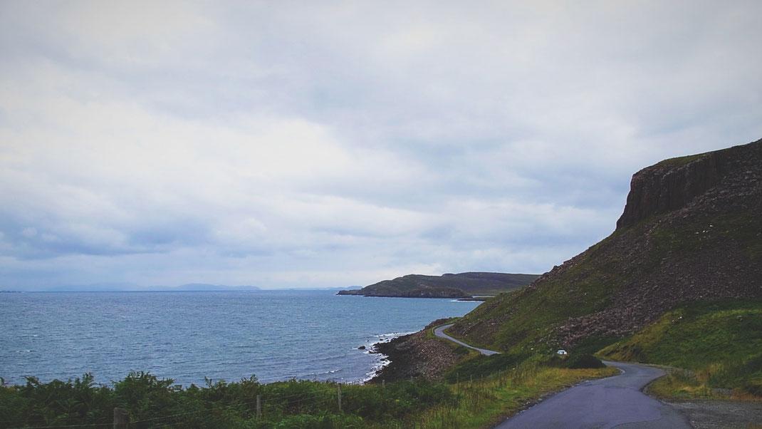 bigousteppes écosse île de skye route camion mercedes
