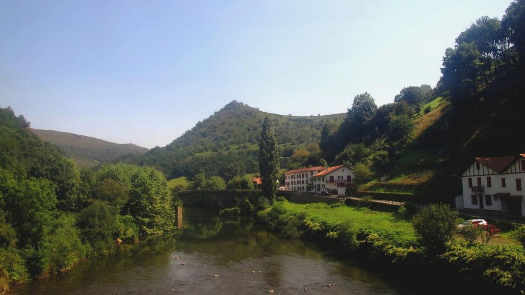 bigousteppes pyrénées bidarray pont village