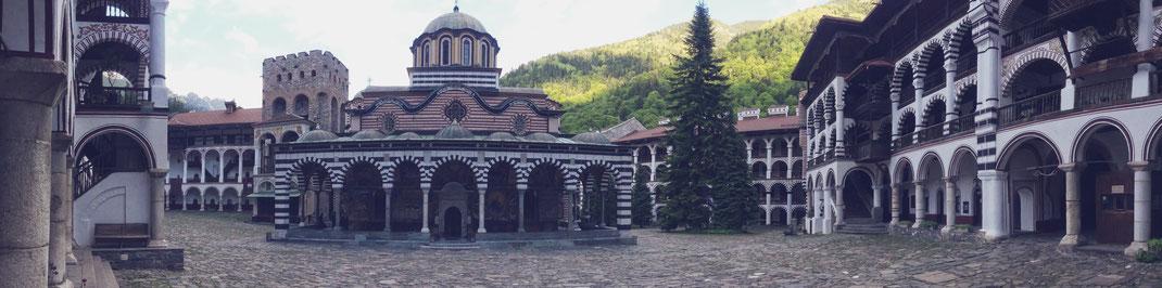 monastère rila bulgarie bigousteppes balkans tour
