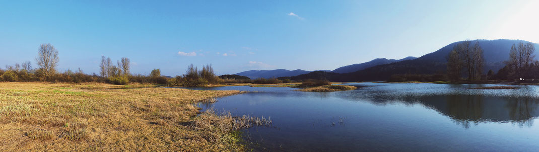 bigousteppes cerknika slovénie lac
