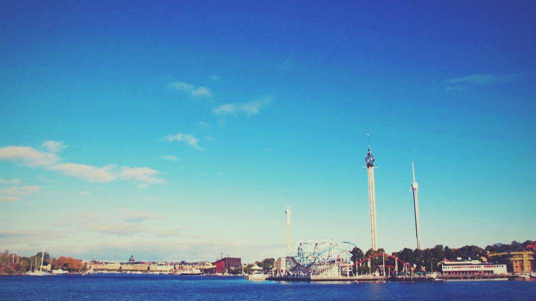 stockholm parc attractions suède bigousteppes mer montagne russe