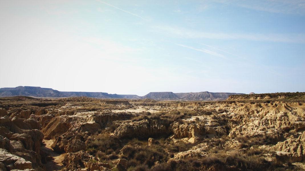 bigousteppes espagne bardenas desert