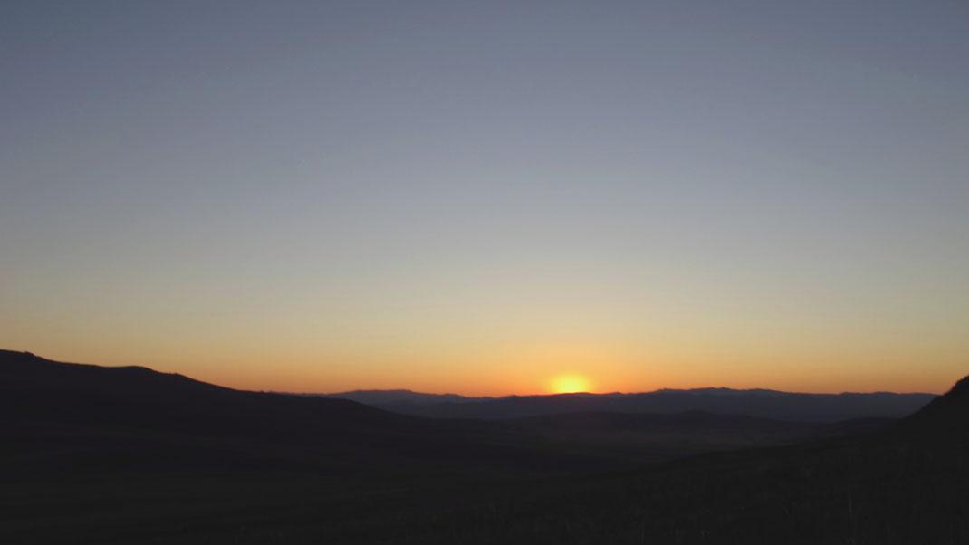 mongolie bigousteppes soleil ciel paysage
