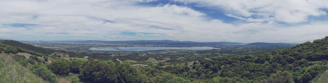 BIGOUSTEPPES MACEDONIA GRECE LAC FORET MONTAGNE