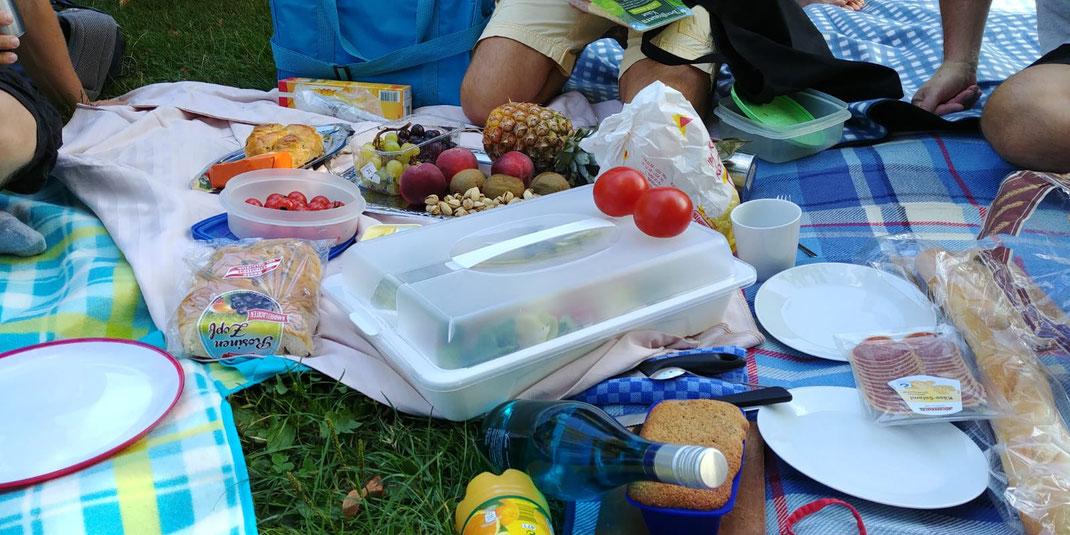 Seefrühstück am 18.8.19