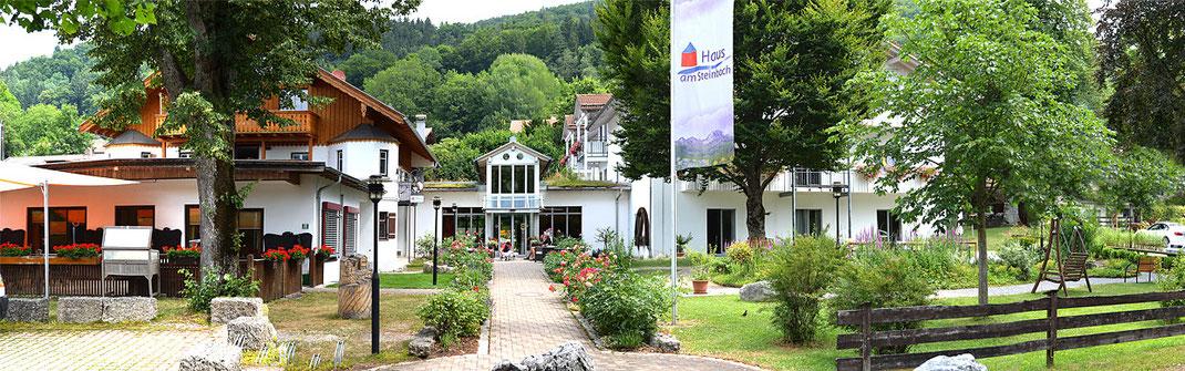 Das Haus für Senioren in Nußdorf am Inn liegt direkt am idyllischen Steinbach