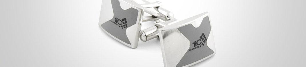 Manchetknopen met logo laten maken