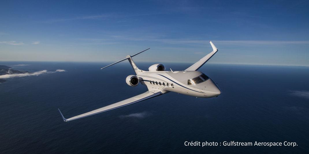 Le Gulfstream G550 est un des plus grands succès commerciaux de l'histoire de l'aviation d'affaires.