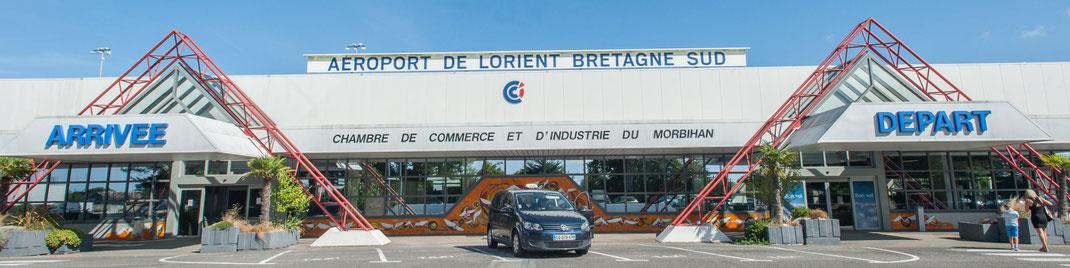 Bâtiment de l'Aéroport de Lorient Bretagne Sud