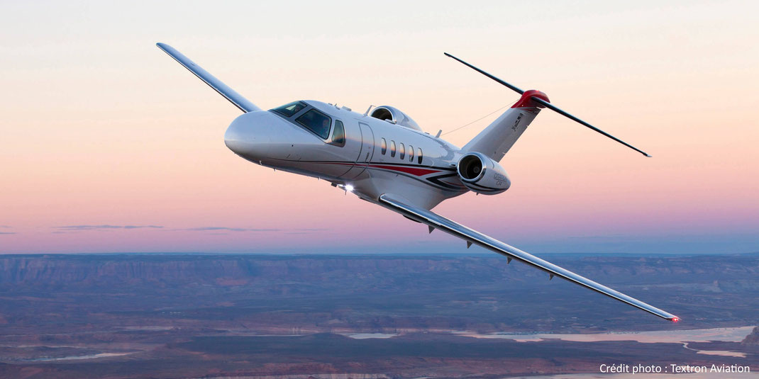 Le Cessna Citation CJ4