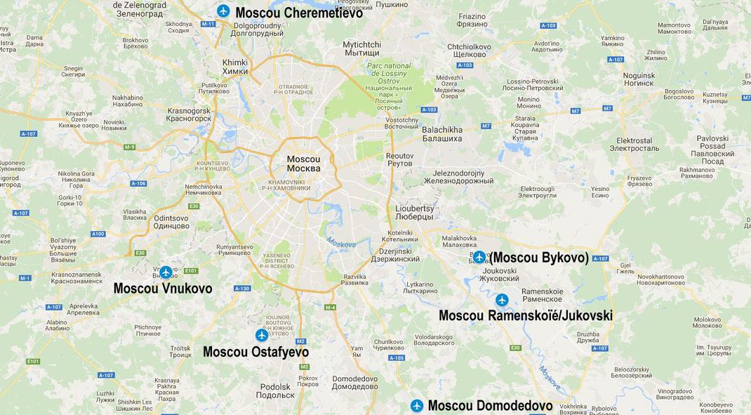 Aéroports de Moscou